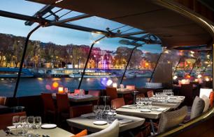 Dinner Cruise in Paris – Bateaux Parisiens – 8:30pm