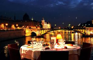 Christmas Eve Dinner Cruise & Paris Illuminations – Departing from the Eiffel Tower, 2 hrs 30 mins (limited places)
