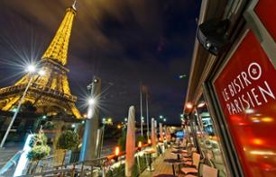 Seine River Cruise & Dinner at the 'Bistro Parisien' Riverside Restaurant