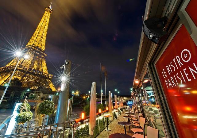 Ver la ciudad,City tours,Visitas en barco o acuáticas,Cruises, sailing & water tours,Crucero por el Sena,Con cena