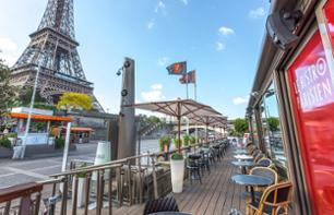 Seine River Cruise & Lunch at the 'Bistro Parisien' Riverside Restaurant