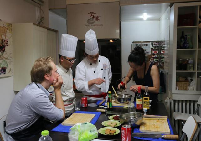 Atelier de cuisine et visite d'un marché chinois traditionnel à Pékin - Pekin -