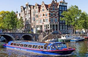 Panoramic tour of Amsterdam and cruise along the canal