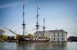 Amsterdam Canal Cruise and Ticket to the Scheepvaartmuseum (National Maritime Museum)