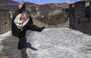 Visit the Great Wall of China and the Ming Dynasty Tombs – Hotel pick-up/drop-off