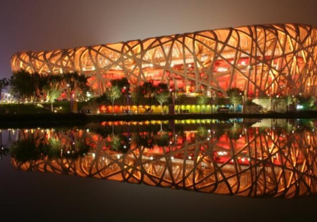 Visite du palais souterrain, de la Grande Muraille de Mutianyu et des installations olympiques – départ/retour hôtel - Grande Muraille de Chine -
