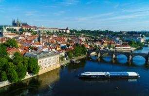 Lunch cruise on the Vltava