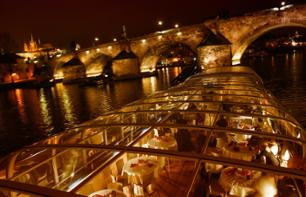 Dinner cruise on the Vltava in Prague