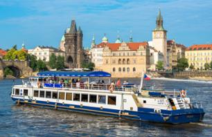 Panoramic Cruise on the Vltava - 1 hour - Prague