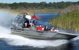 Tour en airboat dans les Everglades - Au départ de Kissimmee (30 mn au sud d'Orlando)À partir de24,32€/pers.Lire les avisConfirmation immédiate