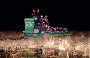 Airboat tour in the Everglades - Night tour - departing from Kissimmee (30min south from Orlando)