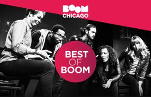 Dinner and Theatre Show in Amsterdam - Boom Chicago