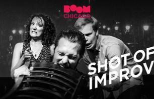 Theatre and Improvised Show in Amsterdam – Boom Chicago