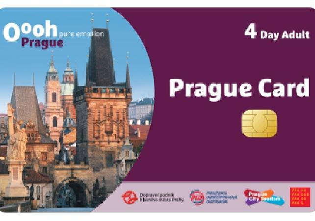 Prague Card, Pass Activités, transports et monuments - Prague -