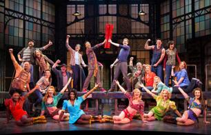 """Kinky Boots"" - Tickets für das Musical am Broadway"