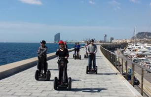 Tour guidato di 2 ore a Barcellona in Segway
