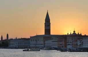 Guided cruise on the Venice lagoon during sunset - In French