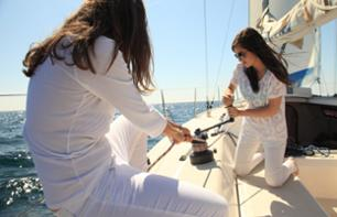 Learn to Sail on a Private Yacht - Barcelona