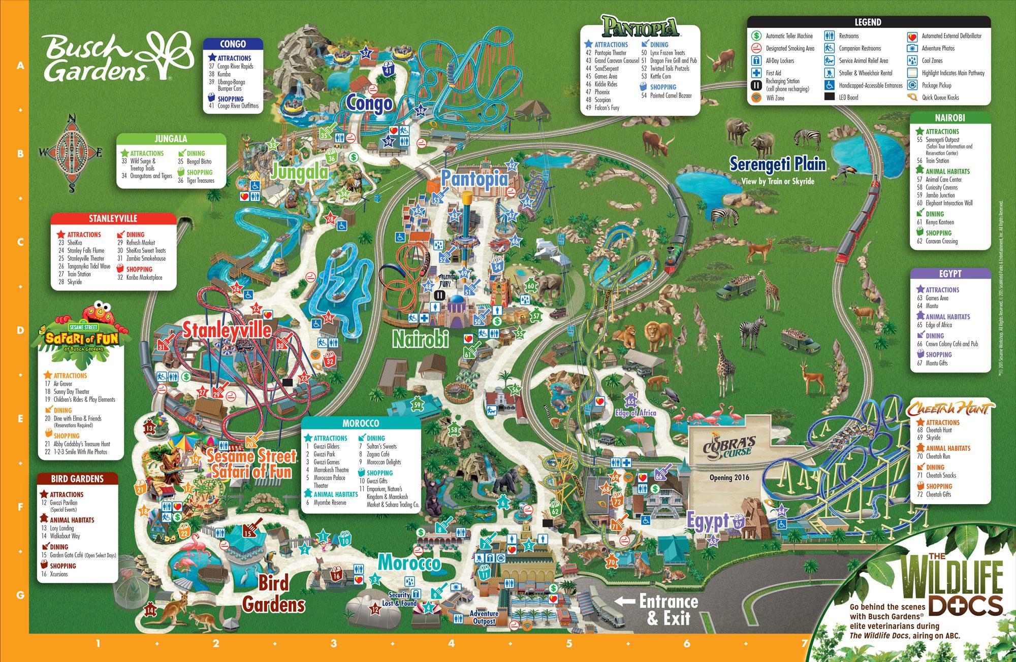 Purchase SinglePark Tickets Busch Gardens Tampa Bay
