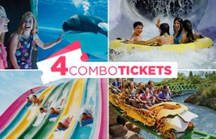 2, 3 or 4 Florida Park Pass: Sea World, Busch Gardens, Aquatica, Adventure Island