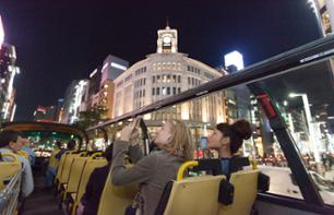 Tour of Tokyo By Night on a Double-Decker Bus