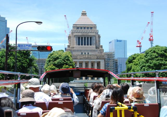 Tour de Shibuya et Akasaka en bus à impériale - Tokyo -