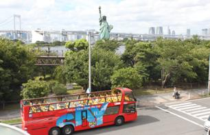 Tour of Central Tokyo and Odaiba on a Double-Decker Bus