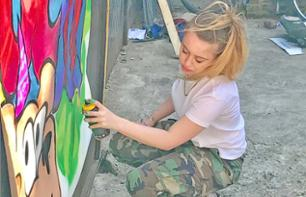 Workshop street-art e graffiti a Brooklyn - durata di 1 ora in piccoli gruppi
