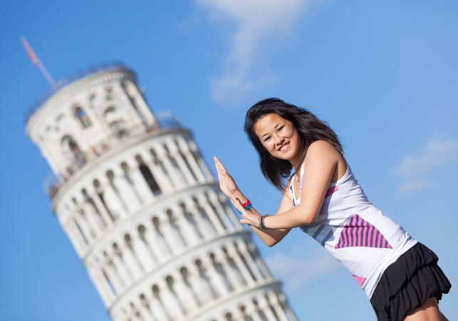 Excursion à Pise - billet coupe file Tour de Pise inclus - Florence -