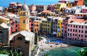 Day Trip to the Cinque Terre and Boat Tour– Departing from Florence