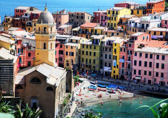 Photo Excursion à Cinque Terre avec tour en bateau au départ de Florence