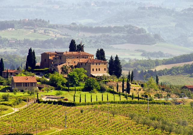La région du Chianti en une journée - Visite des villages perchés, dégustation de vins et dîner toscan - Florence -