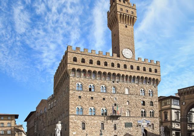 Photo Visite guidée du palais Vecchio et de la piazza della Signoria