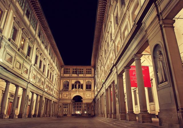 Photo Visite guidée de la galerie Uffizi après la fermeture au public