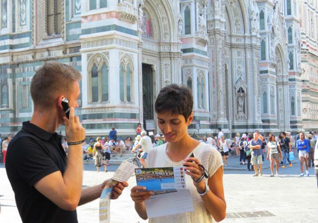 Visite de Florence en autonomie avec audioguide - carte interactive - Florence -