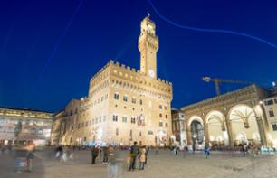 Guided Tour of the Vecchio Palace  & View of the City Walls at Sunset – Florence