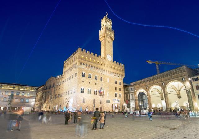 Visite guidée du Palais Vecchio et vue des remparts au coucher de soleil - Florence - Florence -