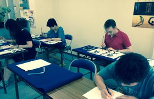 Japanese Calligraphy Class in Tokyo