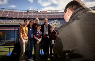 Guided visit of Camp Nou in a small group - Barcelona