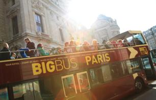 Explore Paris by Double Decker Bus: 1 or 2-Day Hop-On, Hop-Off Pass