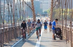 Tour guidé à vélo de Brooklyn & Brooklyn Bridge à New York