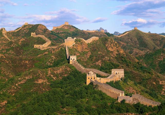 Visite privée de la Grande Muraille de Jinshanglig départ/retour hôtel en français - Pekin -