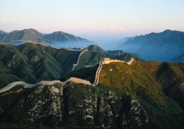 Visite guidée de la grande muraille de Chine et de la Cité Interdite - départ/retour Hôtel à Pékin - Pekin -