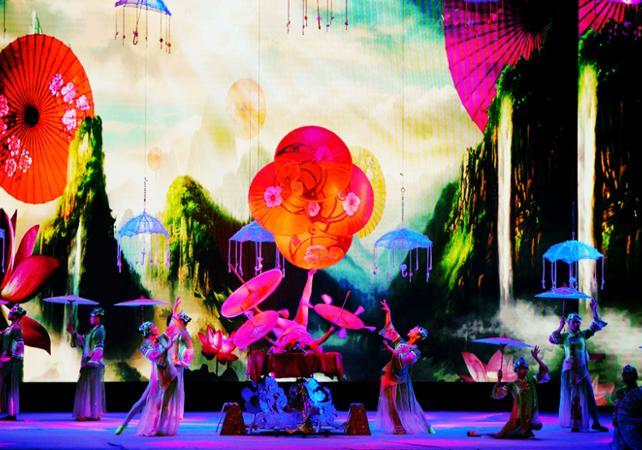 Spectacle d'acrobatie du théâtre Chaoyang à Pékin - Pekin -