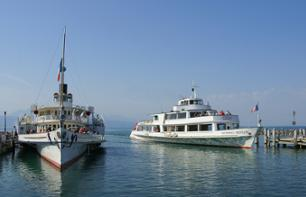 Steamboat Cruise From Geneva to Lausanne on Lake Geneva