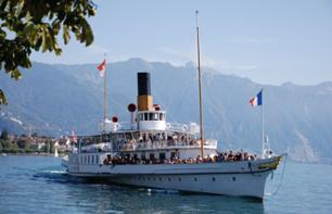 Cruise Day Pass – Unlimited Boat Trips on Lake Geneva