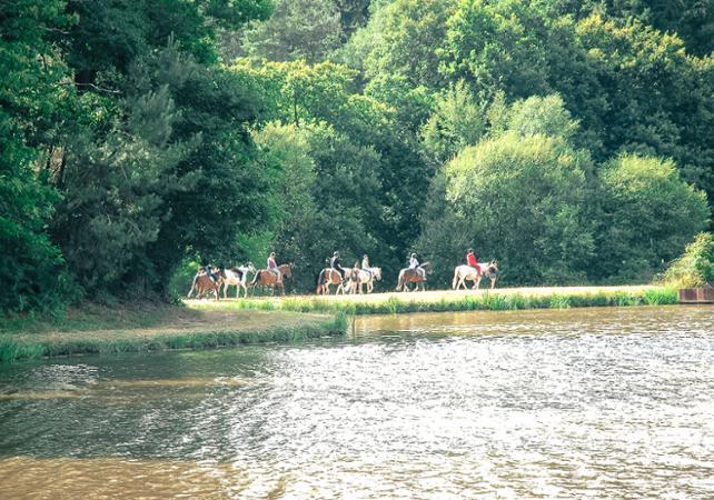 Balade à cheval en forêt de Brocéliande - Rennes -