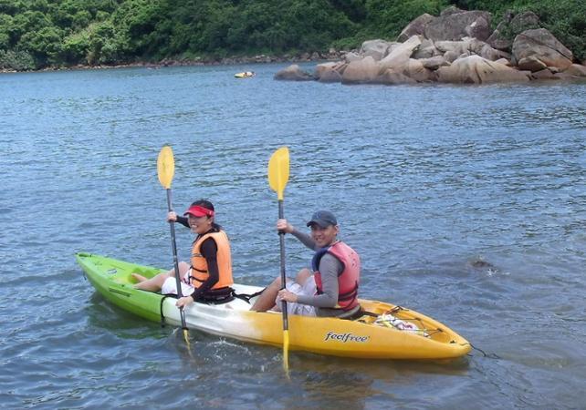 Photo Kayak et plongée avec tuba à Hoi Ha