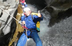 "Go Canyoning in the ""Trou Blanc"" Canyon in La Réunion"