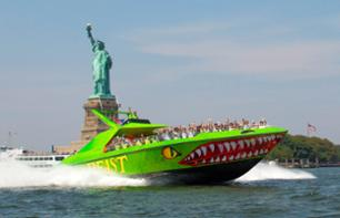 "New York White-Knuckle Cruise on ""The Beast"" Giant Speedboat – 30 mins."